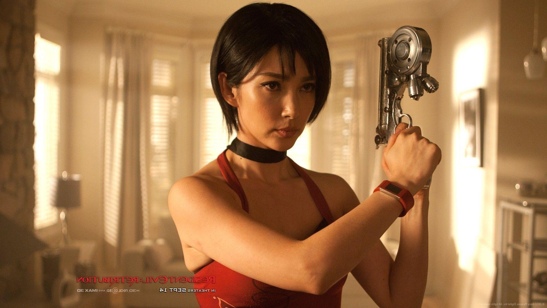 Resident Evil Retribution Li Bingbing Ada Wong Bikini Cloudpix
