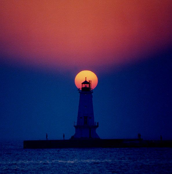 Arbor Place Dr: Sunset In Ludington,MI...I So Want To Go Back To Lake