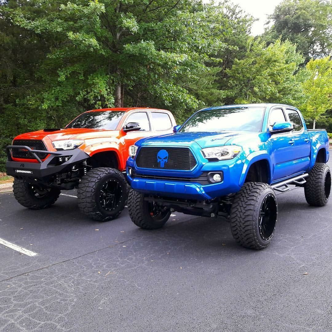 Lifted Toyota Tacoma Modified W Aftermarket Suspension