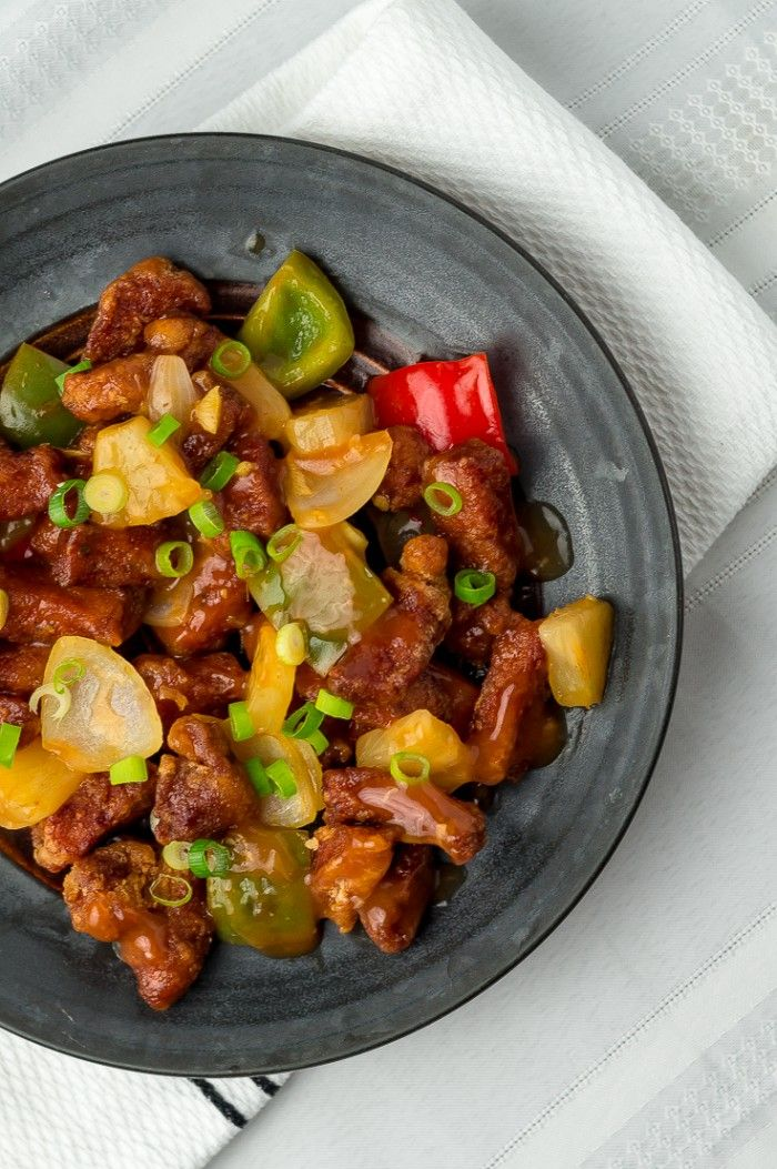 sweet and-sour pork recipe