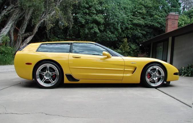 Chevrolet Corvette C5 Shooting Brake Wagon Nomad. Not your ...