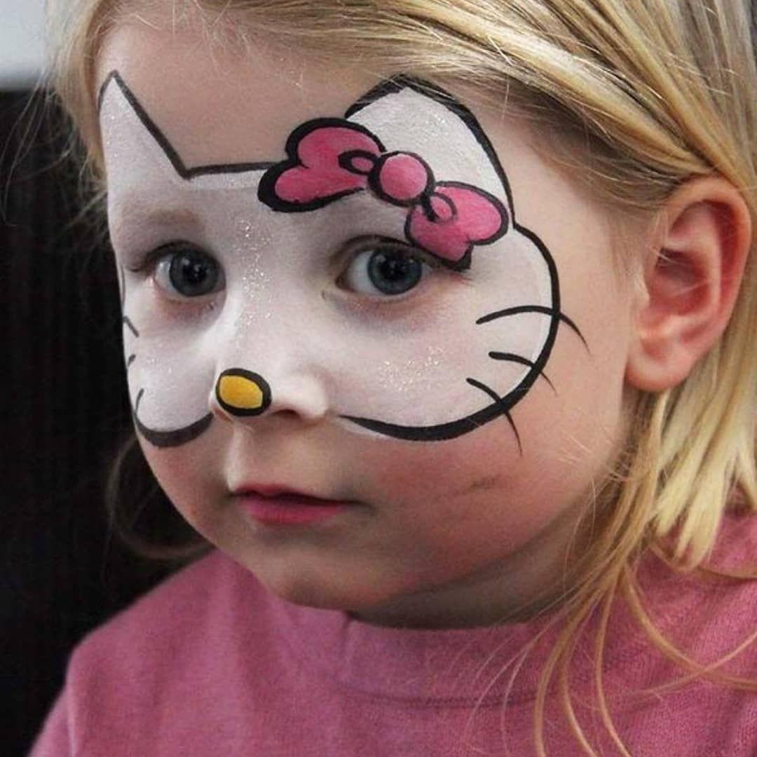 عرض خاص الرسم على الوجه مصمم Call Me Or Whatsapp 965 67789389 خدمه منازل اتصال وات ساب هذا Welcome Kitty Face Paint Girl Face Painting Face Painting Halloween