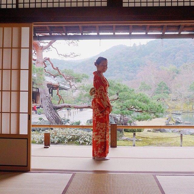 i do not know where to look in Kyoto.....beauty is everywhere. #kyoto #japan #arashiyama #bamboogrove #temple #shrine #japan #ilovejapan #travel #wanderlust #holiday #vacation #vscocam #vsco #beautifuldestinations #trip #uenopark #hanami #cherryblossoms  #sakura #hanami2015 #oktravel2015 #okjapan2015 #globetrottet #wanderlust #travel #trip #holiday