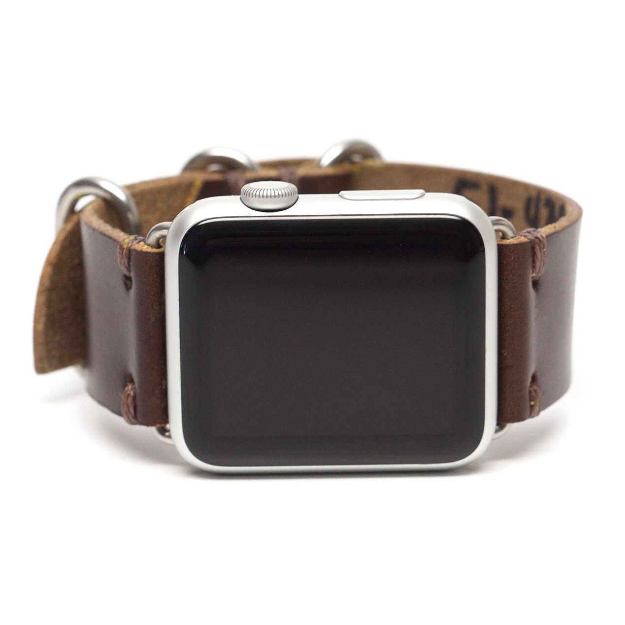 E3 Horween Leather Watch Band for Apple Watch: Brown Chromexcel
