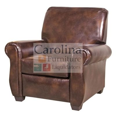 Reclining Chair  Sit in comfort and style with this Recliner from Hughes furniture. It features beautiful padded rolled arms, padded back and seat cushions and tapered feet.