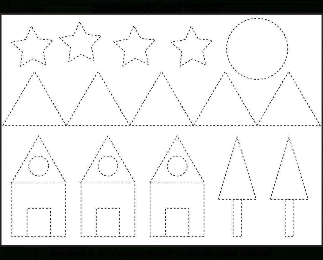 8 Mountain Pattern Worksheet For Kindergarten