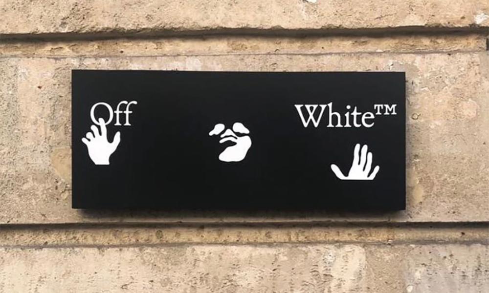 Virgil Abloh Debuts Off White S New Logo See It Here Logos Virgil Virgil Abloh