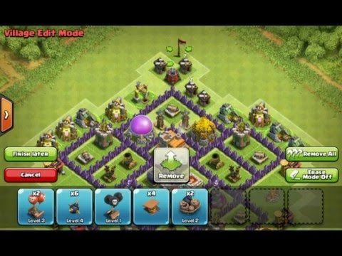 Clash Of Clans Strategy Th7 Hybrid Bases Layout Coc Town Hall 7