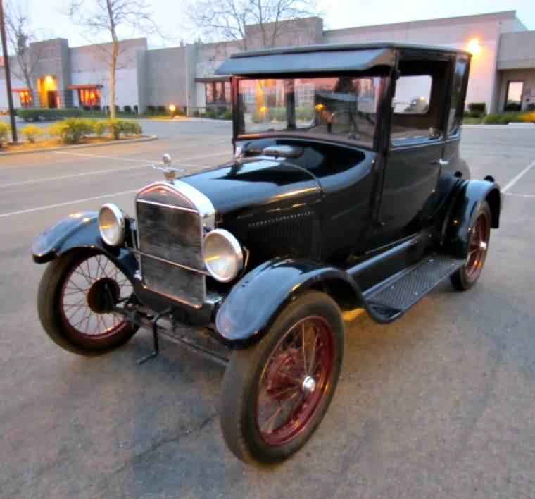 Bid On This 1926 Ford Model T Doctors Coupe On Govliquidation Opening Bid 25 Classic Cars Trucks Retro Cars Ford Trucks