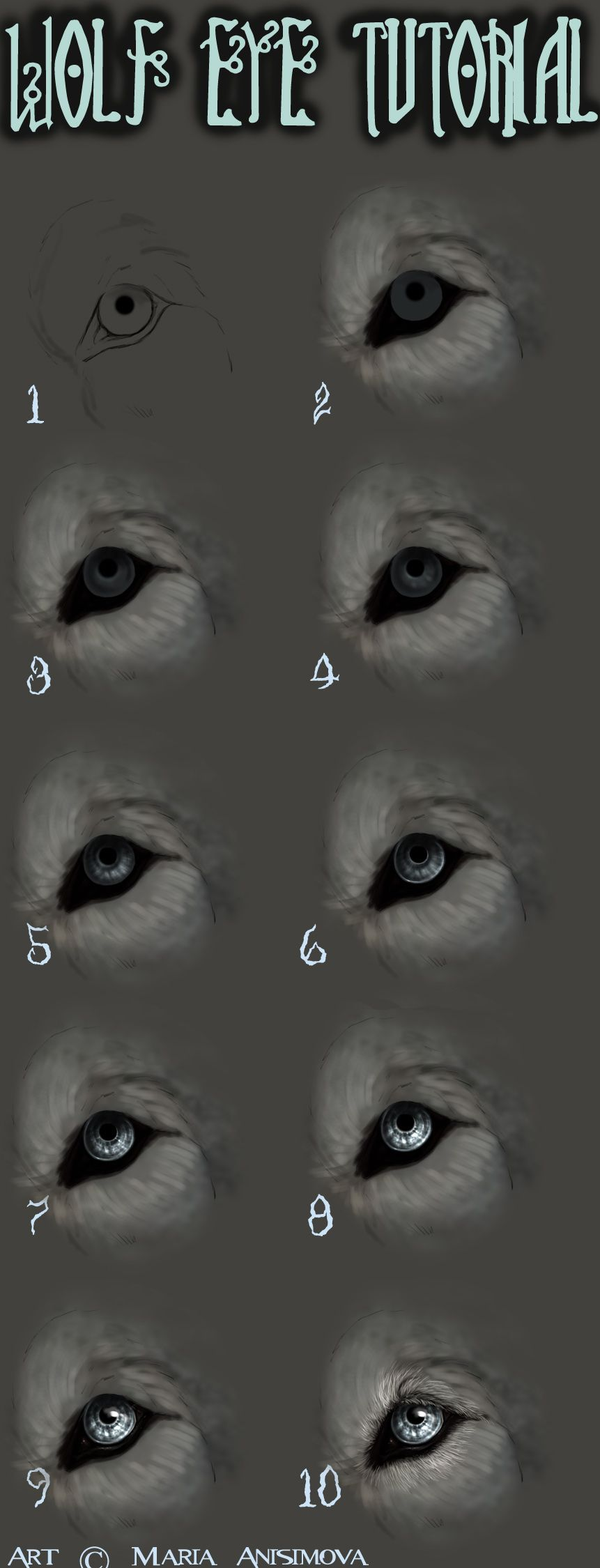 How I Draw Eyes By ~yelloweyes On Deviantart