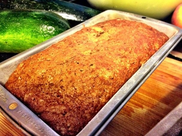 healthier zucchini bread (mashed banana for oil) might be good. i think i would decrease more sugar as well