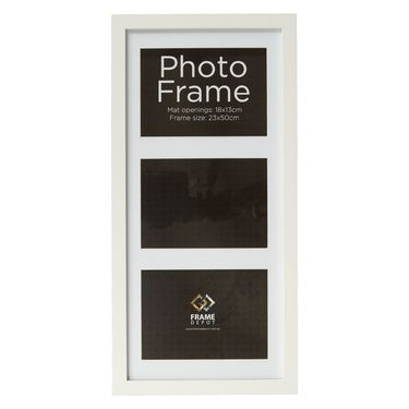 Frame Depot Core 3-In-1 Frame White 13 x 18 cm Spotlight $19.99 ...