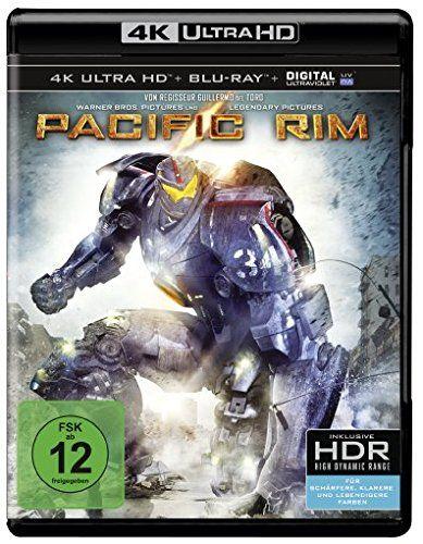 Pacific Rim Ultra Hd Blu Ray 4k Blu Ray Disc Pelicula Titanes Del Pacifico Titanes Del Pacifico Pacific Rim