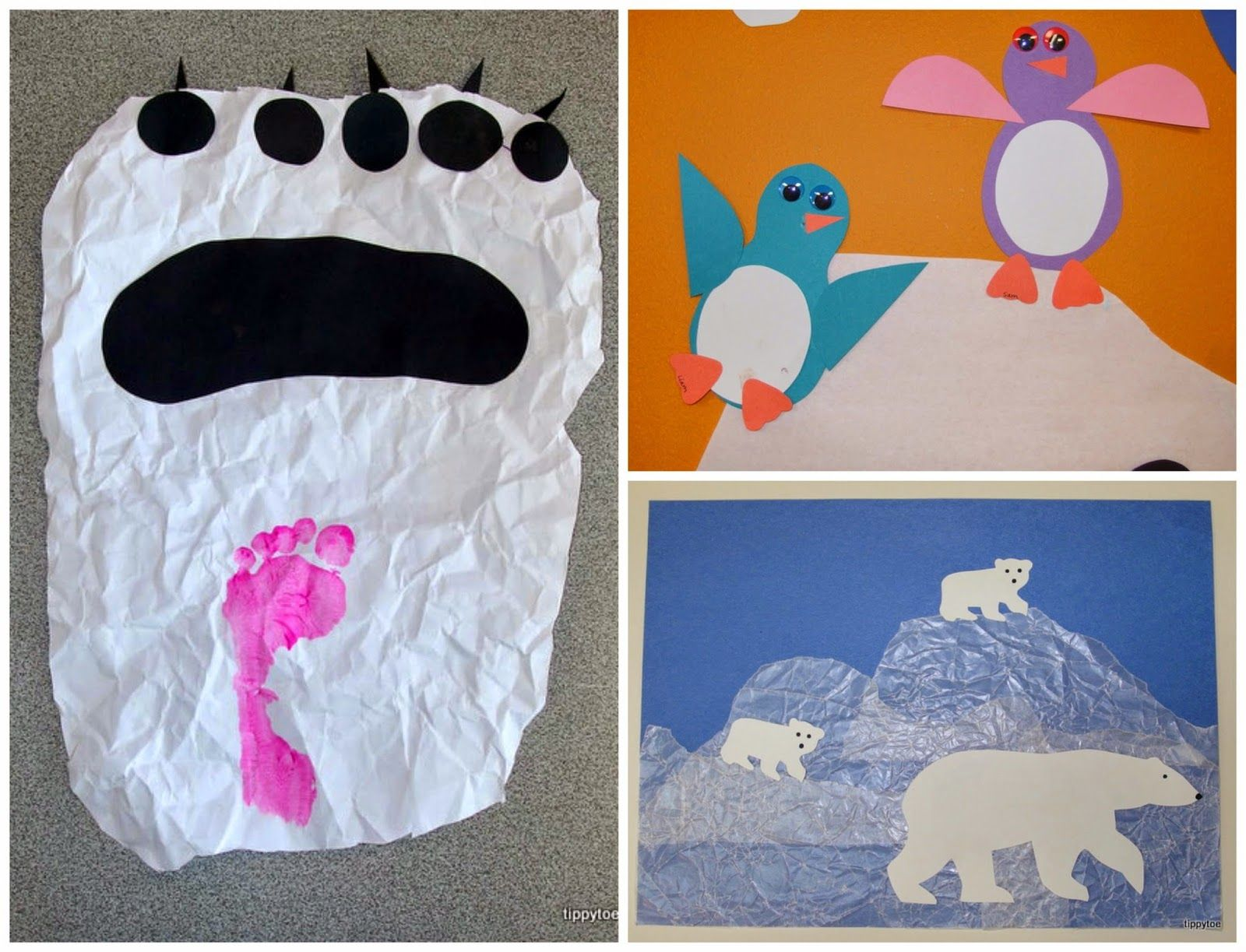 """This past week my class studied polar animals. Since my crafts were mostly """"reruns"""" that I tweaked a bit and ones I copied from other peop..."""