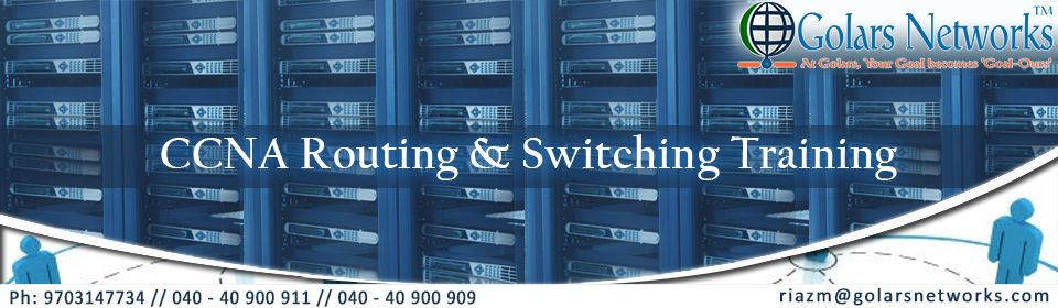 CCNA Routing and Switching | Networking Courses Training in