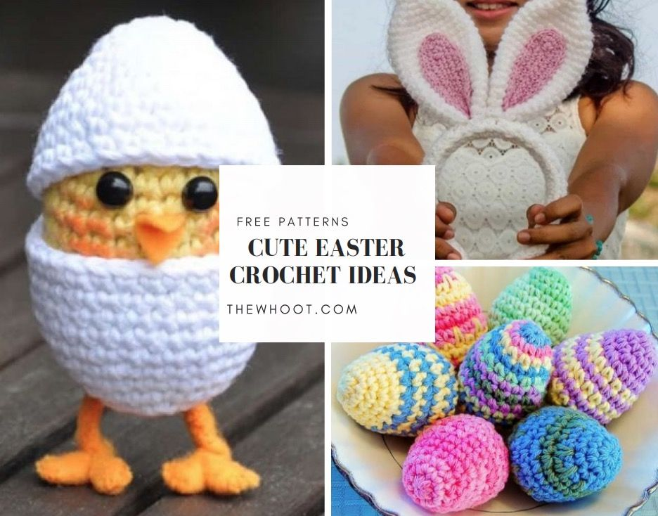 Free Easter Crochet Patterns The Best Collection | Easter | Pinterest