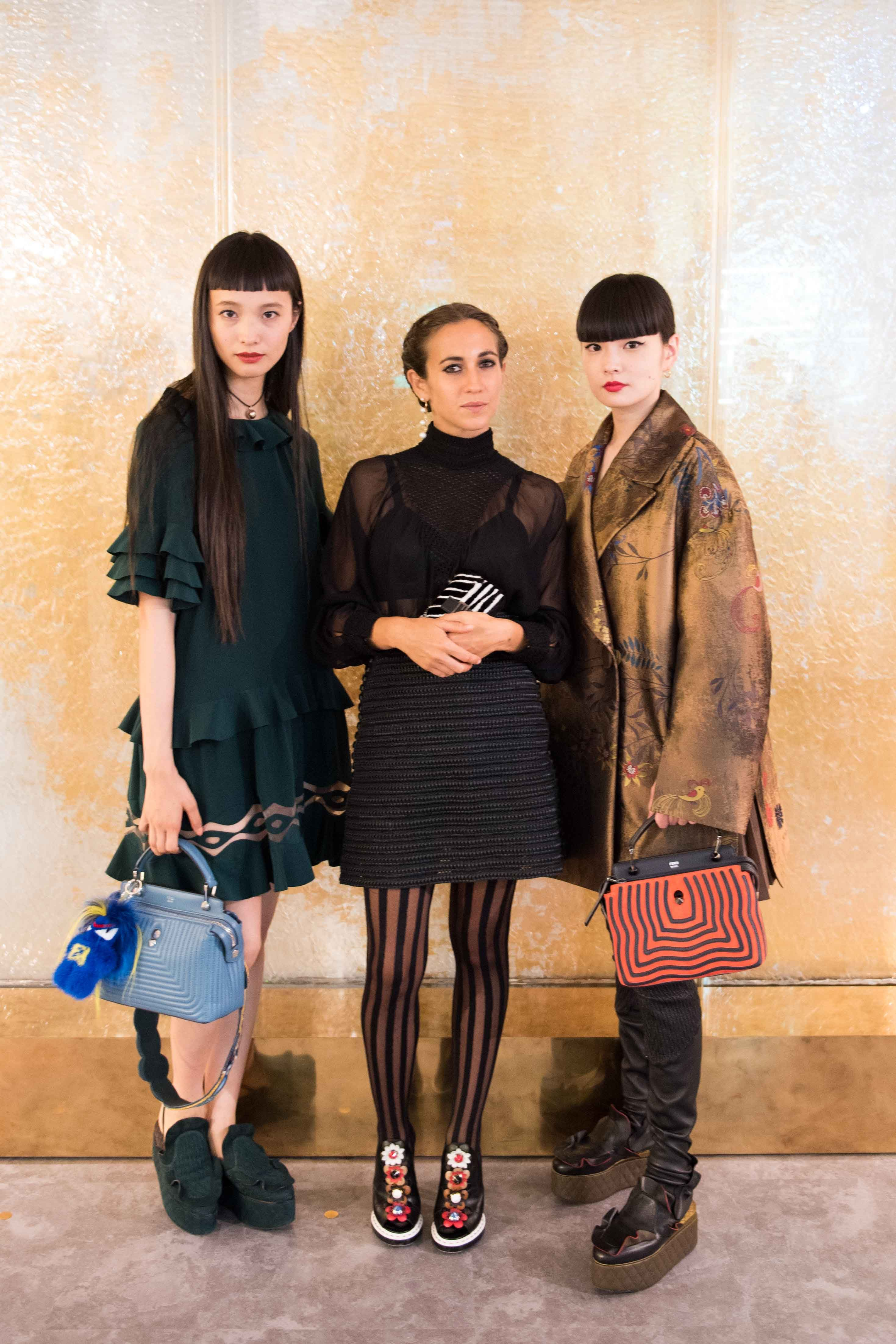 The Fendi Ginza boutique hosted a launch event to celebrate the new timepieces collection designed in collaboration with Delfina Delettrez Fendi, the Fendi Policromia. Check out more from the event.