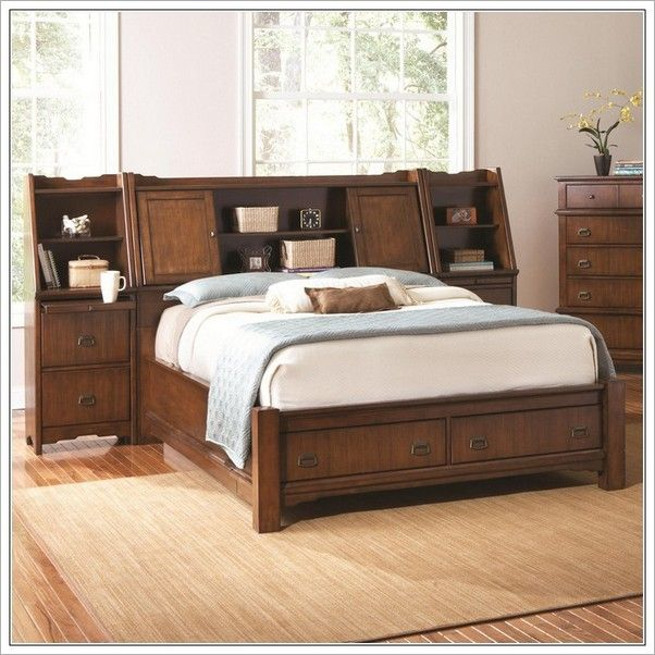 King Size Bed Head Schlafzimmermöbel, Eichenschlafzimmer