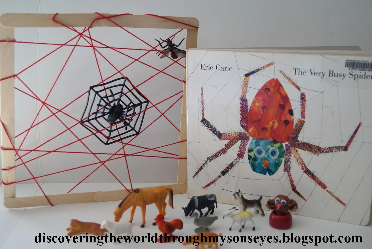 Story Time Amp Crafts The Very Busy Spider