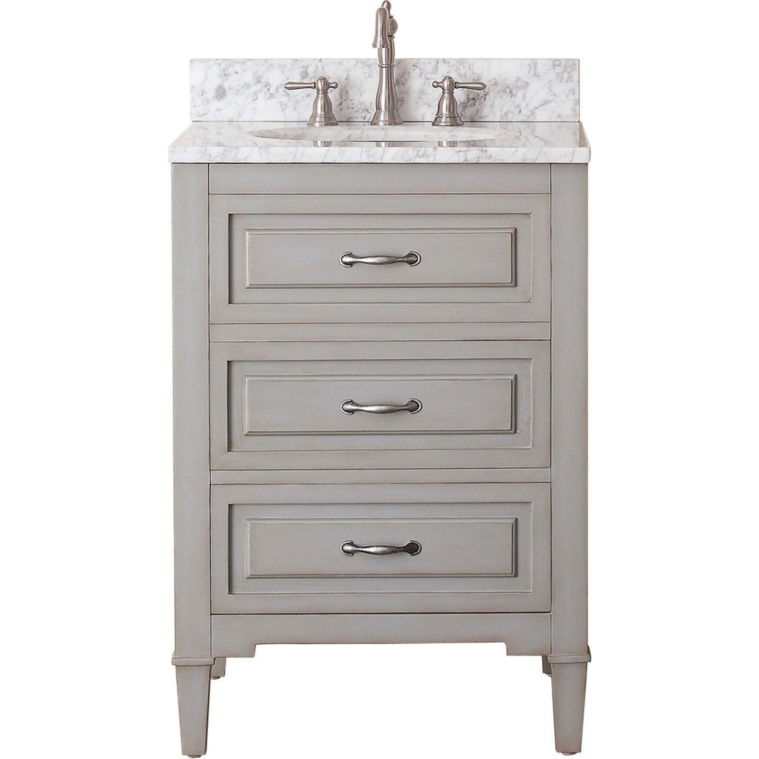 24 bathroom vanity combo. Avanity Kelly Grey/ Blue 24-inch Vanity Combo (Avanity 24 In. Bathroom H
