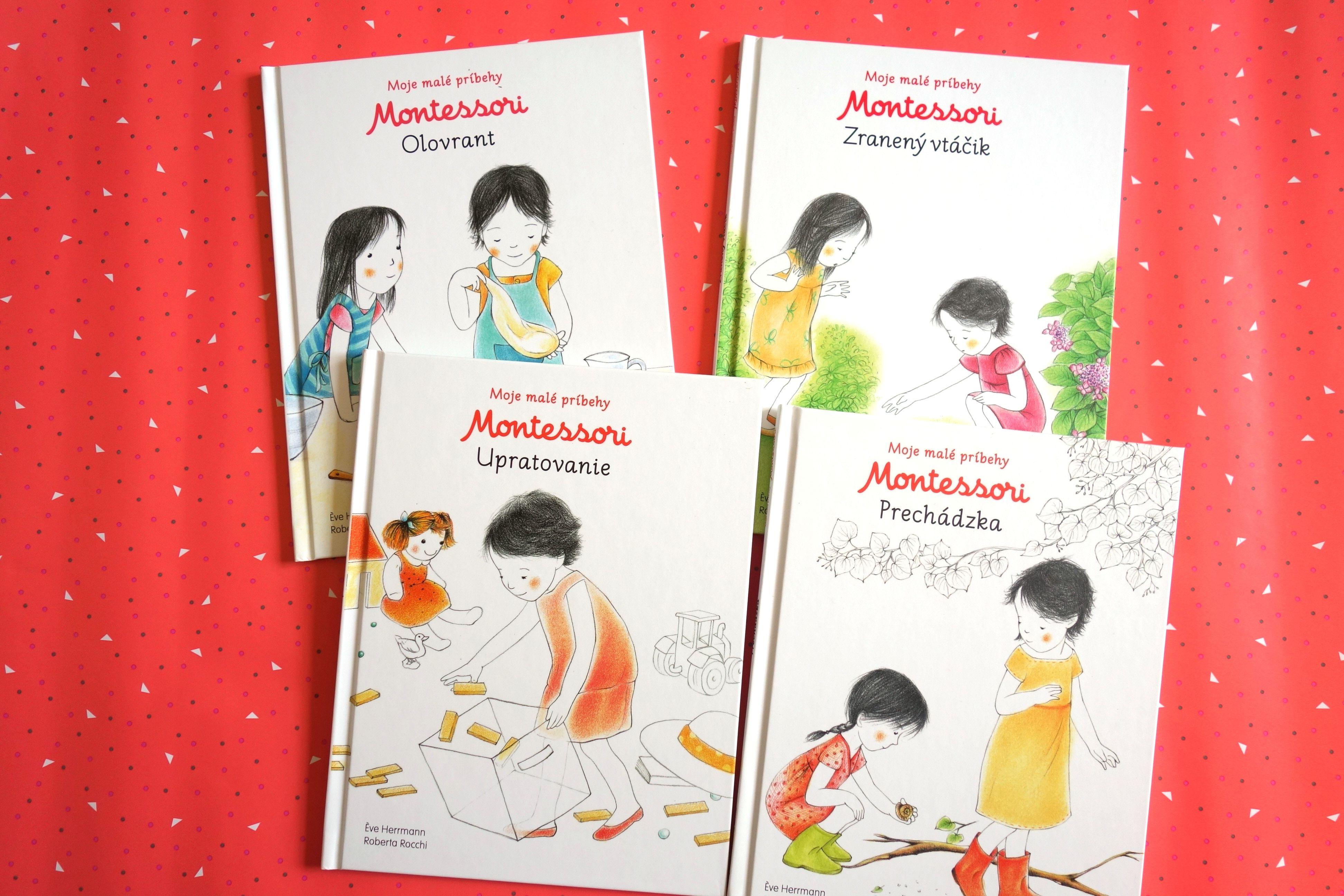 Balicek Montessori Pribehov 4 Za Cenu 3 Jednoduche Pribehy Zalozene Na Principoch Montessori Vychovy Ktore Detom Pomozu Spoznavat Montessori Book Cover Books