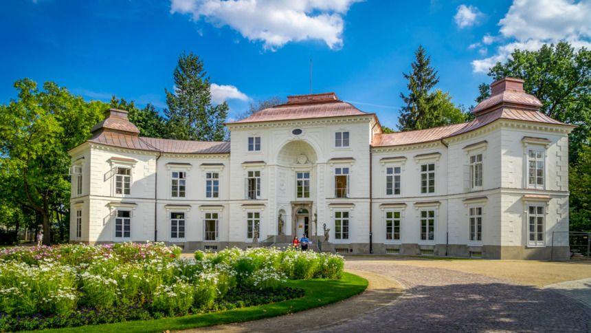 Pałac Myślewicki W Warszawskich łazienkach Powstał Na