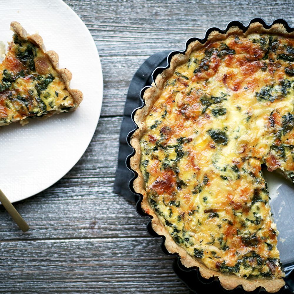 Bacon Leek And Gruyere Quiche Recipe On Food52 Recipe Quiche Recipes Food 52 Recipes