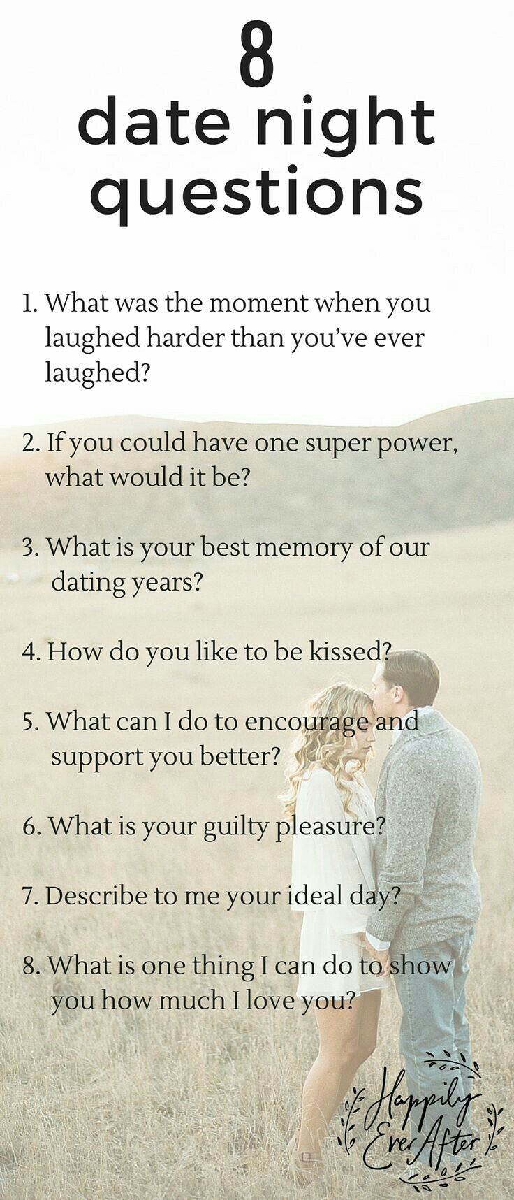 dating show questions