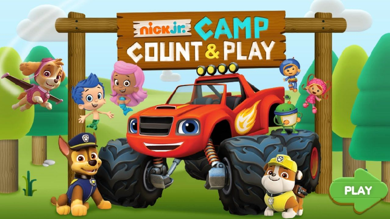 Learning Addition For Children - Nick Jr. Camp Count - Preschool ABC