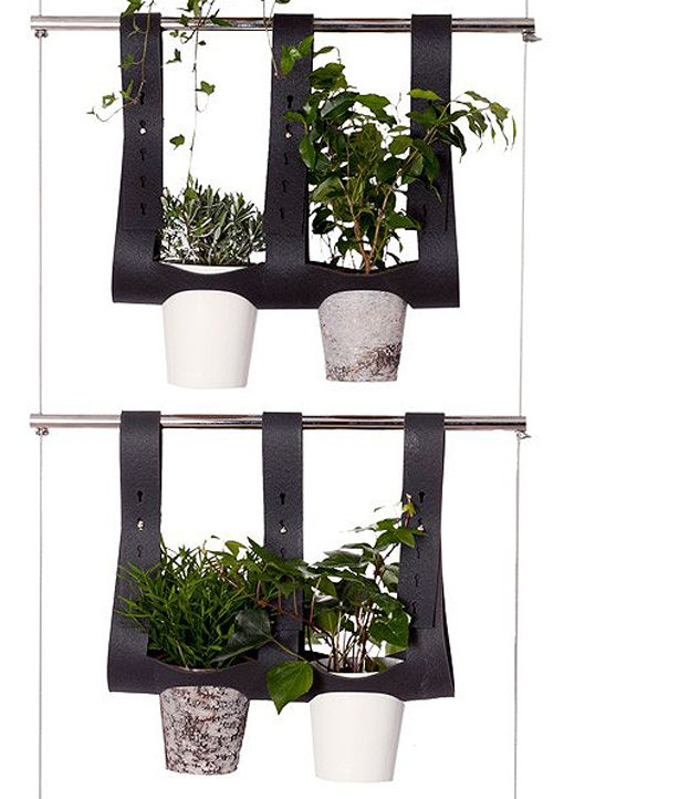 Accessoire N 0 Jardiniere A Suspendre 2 Hanging Plants With Recycled  Materials