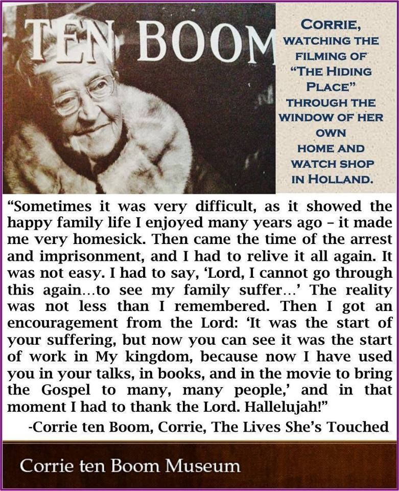 Corrie ten boom quotes by Christy Ivy on Christian