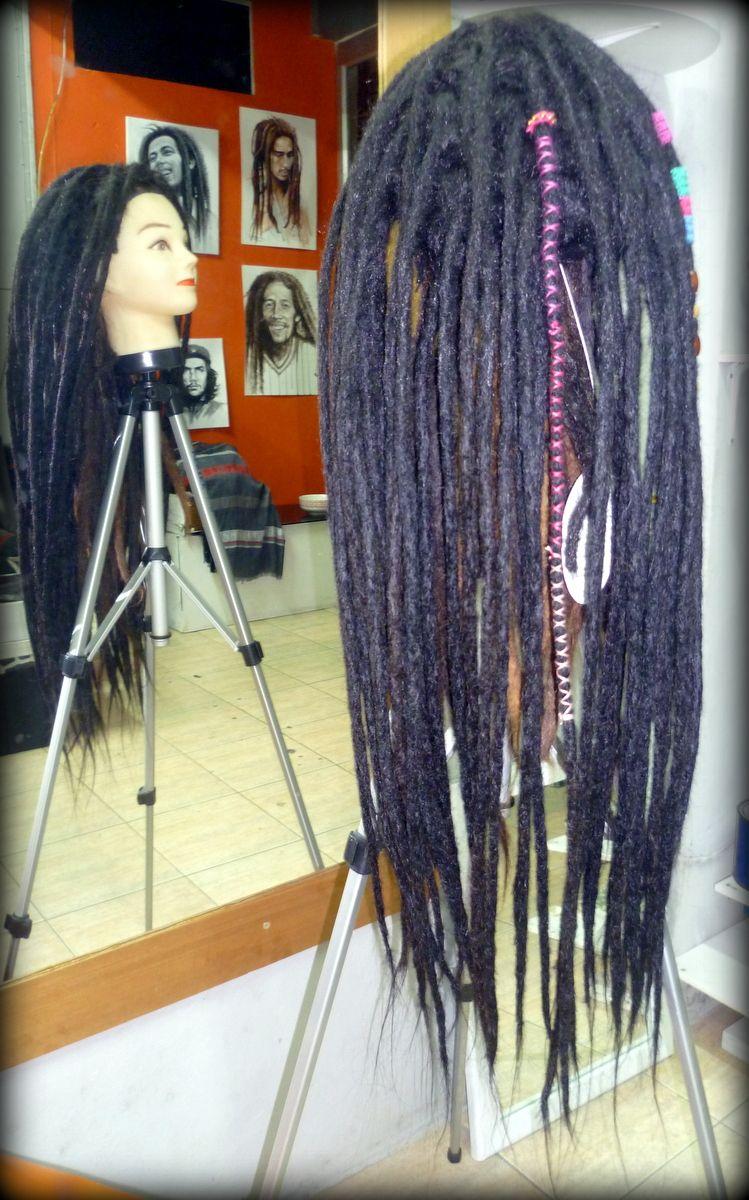 Dreadlock Wig Human Real Hair Extension Dreadlocks Phuket
