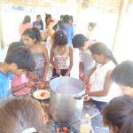 Jóvenes de Belén participaron de un campamento para promotores de salud