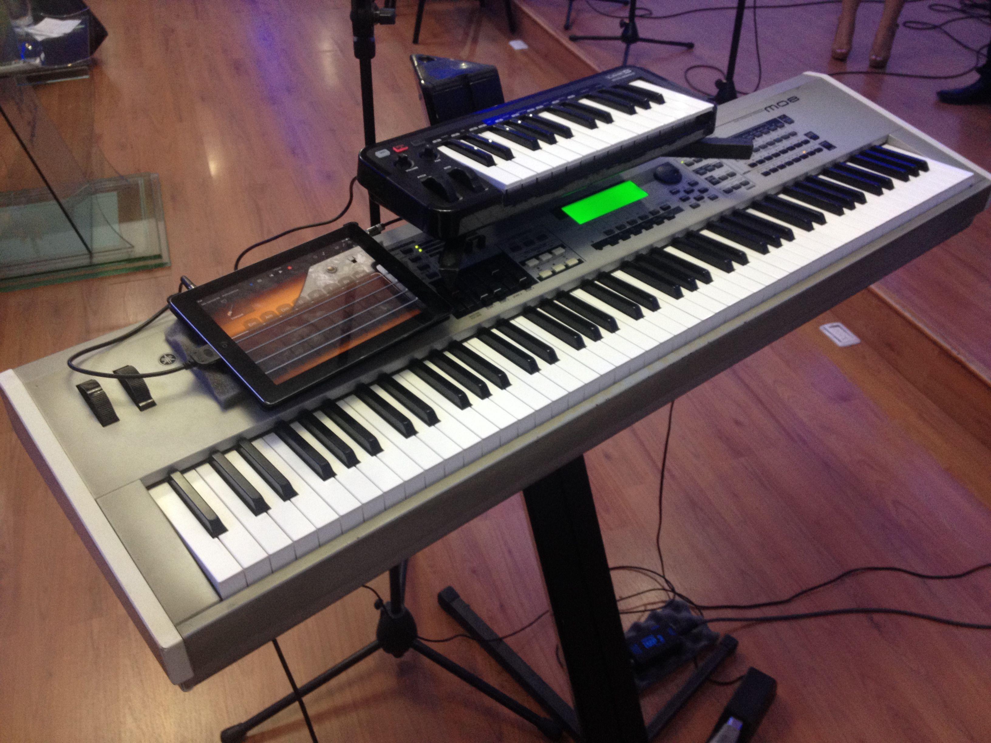 Garage Band Keyboard : Line keyboard yamahamo ipad garageband musical inspiration