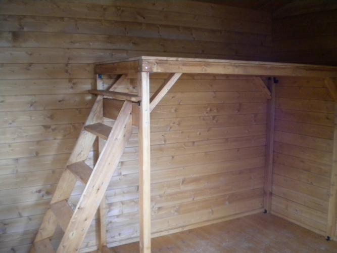 Resultado de imagen para omo hacer una escalera de madera para ...
