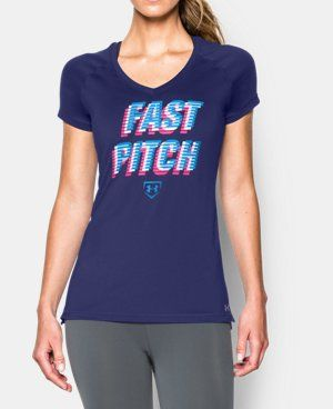 Women's UA Softball Graphic Short Sleeve