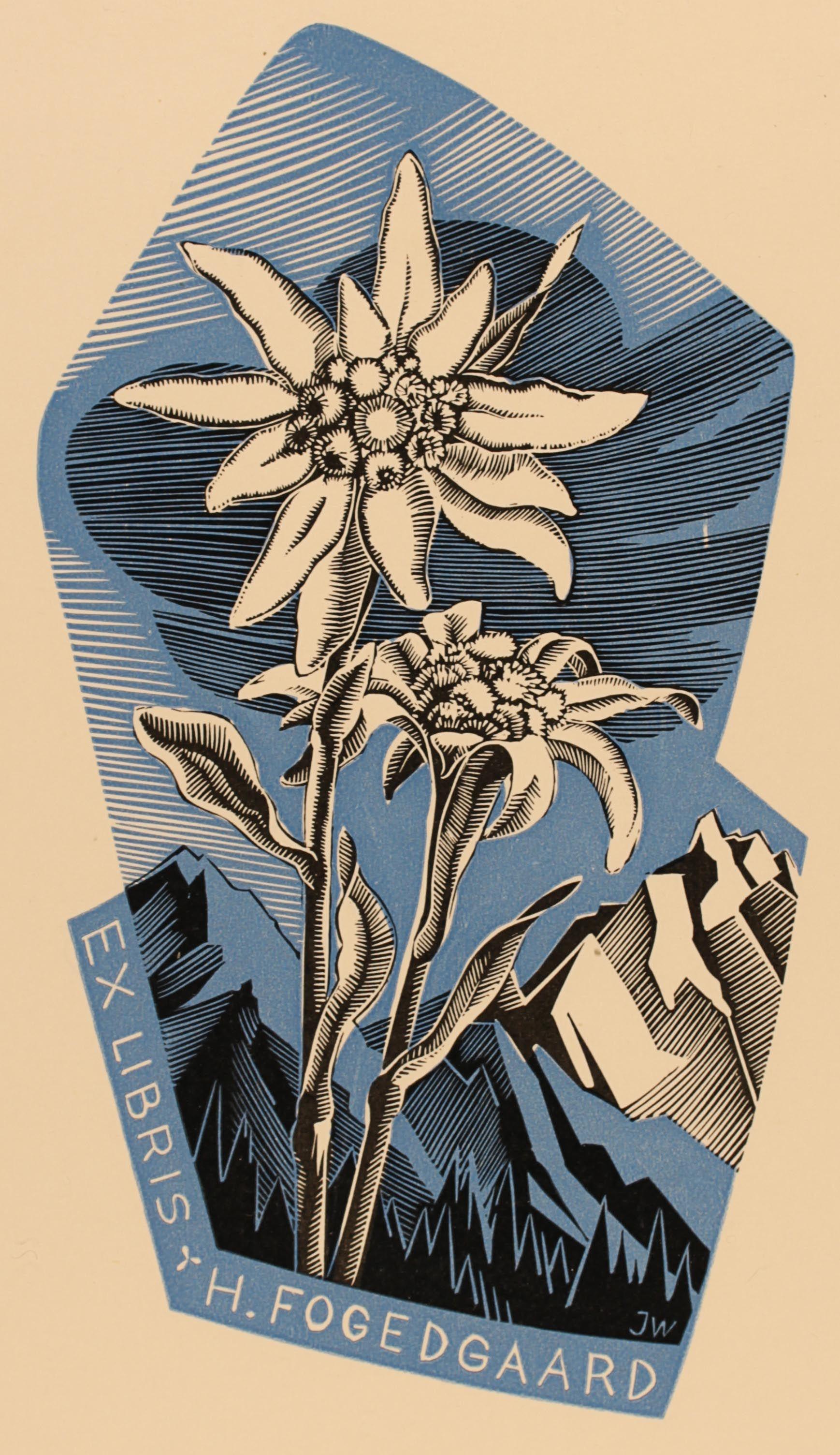 Art-exlibris.net - exlibris by Josef Weiser for Helmer Fogedgaard