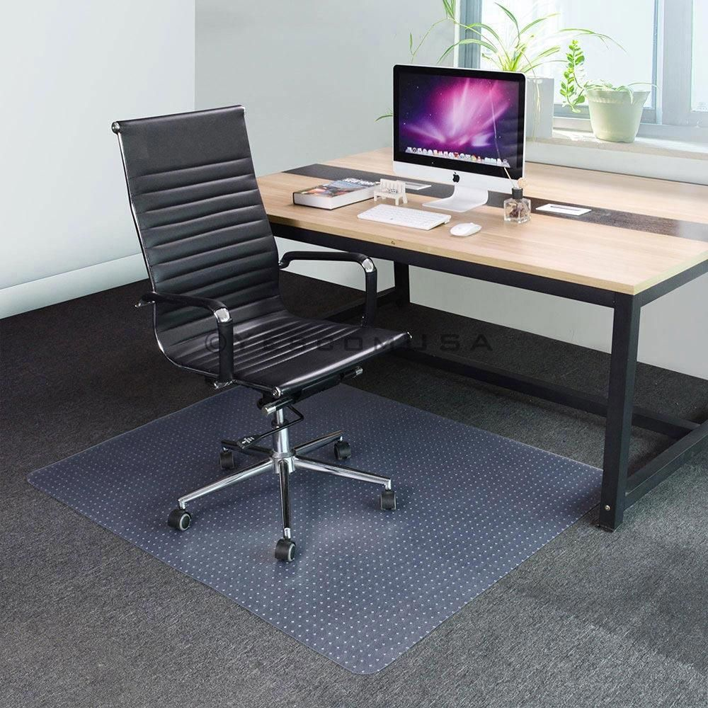 Studded Low Pile Carpet Chair Mat 48x60 1/8