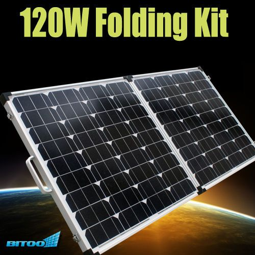 New 120w Folding Kit Solar Panels Monocrystalline Module 12v Camping Caravan Solar Panels Solar Caravan