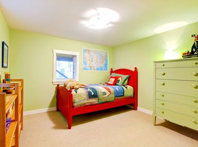 Colores para pintar y decorar habitaciones infantiles.