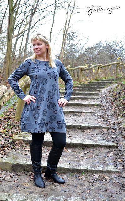 Kleid #Vestis nach dem Schnitt von #ElfriedeundFridolin