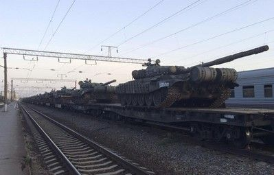 Russia masses heavy firepower on border with Ukraine - witness - http://conservativeread.com/russia-masses-heavy-firepower-on-border-with-ukraine-witness/