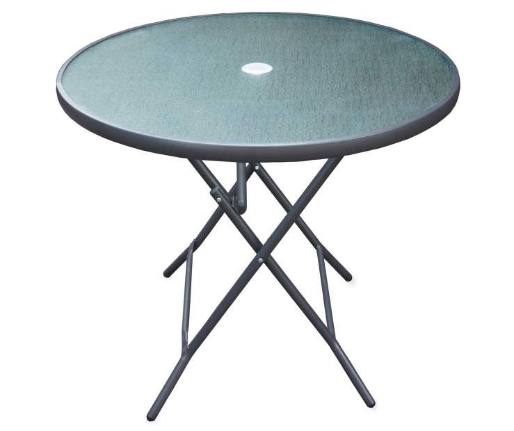 34 Glass Top Round Folding Table At Big Lots Round Folding Table Round Patio Table Folding Table