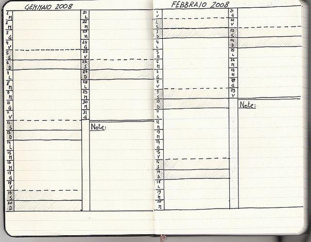 moleskine book journal template - personjal calendar moleskine pinterest moleskine