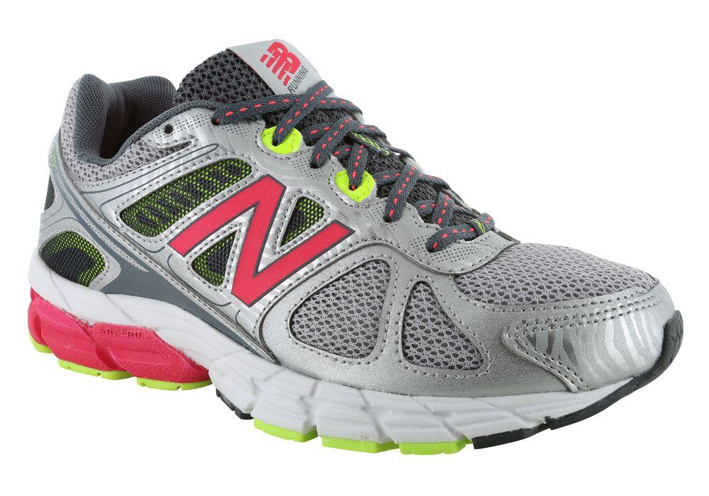 29f9e1e63580 Womens New Balance 670 Fitness Runner Silver   Pink   Green Style   W670SP1   newbalance