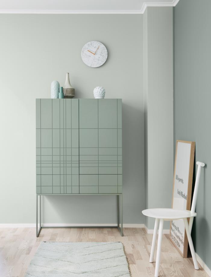 1001 id es d co charmantes pour adopter la nuance vert c ladon pastels. Black Bedroom Furniture Sets. Home Design Ideas