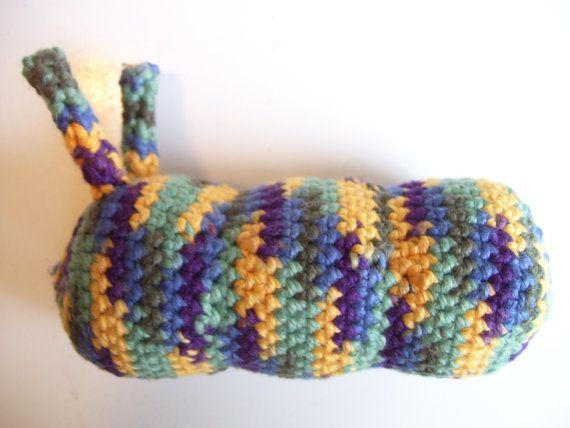Amigurumi Caterpillar : Amigurumi caterpillar dog toy by athenaknits on etsy $4.99 a dog