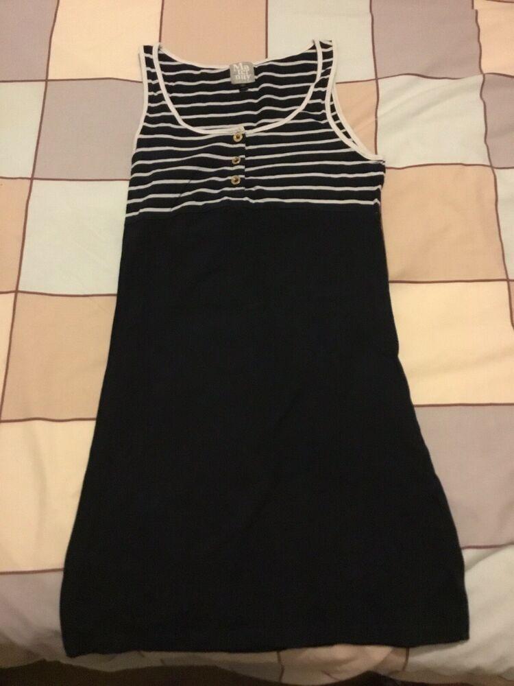 1af2952355015 Size 10 Topshop Maternity Dress/top/tunic. Navy/stripe Design #fashion