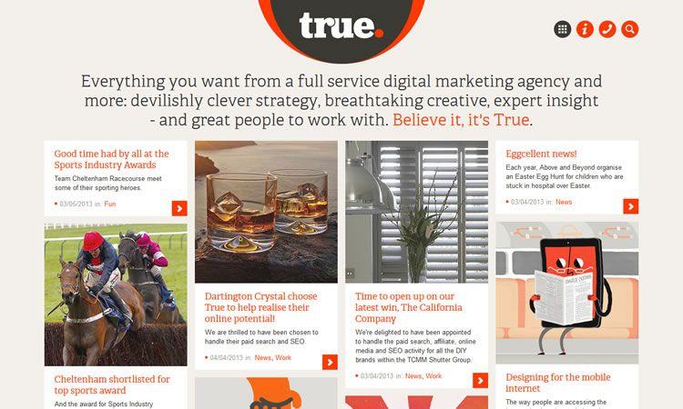 14 Beautiful Examples Of Magazine Layouts In Web Design Custom Website Design Web Design Inspiration Digital Marketing Agency