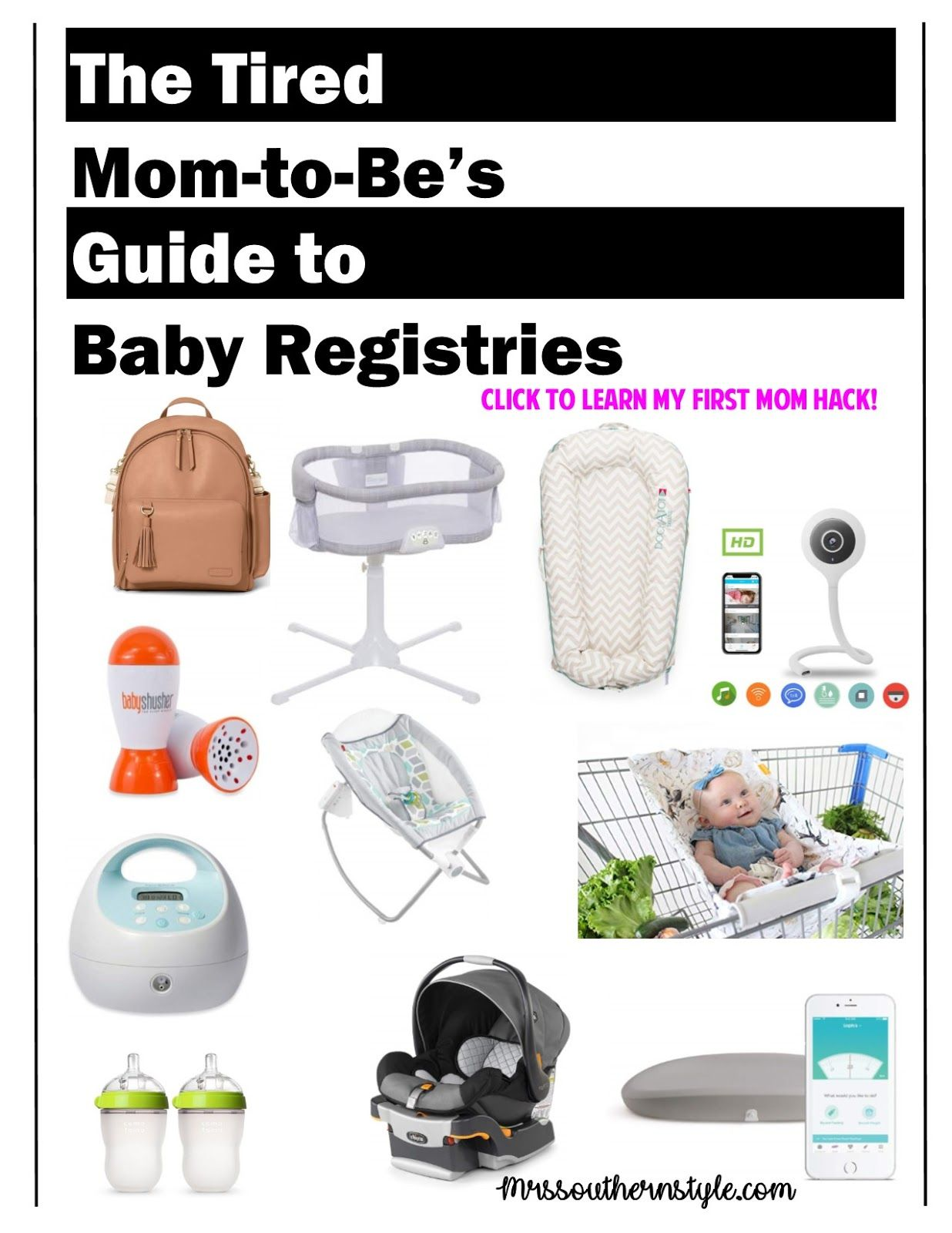 Baby Registry Hack for the Busy Mom-to-Be + My Baby Shower ...